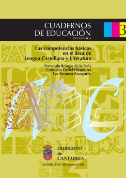 las competencias básicas en el área de lengua castellana y literatura