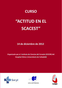 Folleto Curso SCACEST