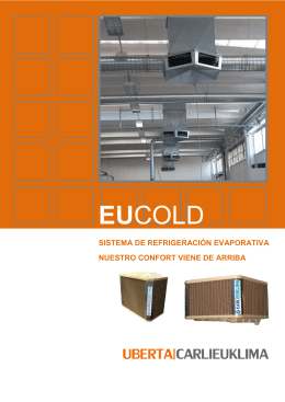 FOLLETO COMERCIAL EUCOLD