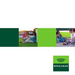 Descargue nuestro folleto Royal Grass