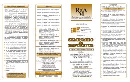 folleto seminario Enero