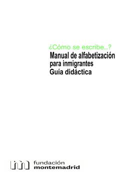 "Descarga ""Manual de Alfabetización ¿Cómo se escribe...?"""