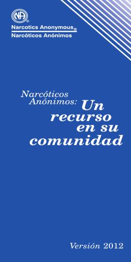 NA: Un recurso en su comunidad
