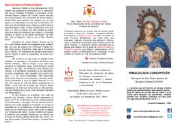 INMACULADA CONCEPCIÓN - Maria Concepción Prudencio Seseña