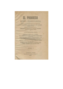 """Seis escritos masónicos en la revista """"El Progreso"""" (1869)"""