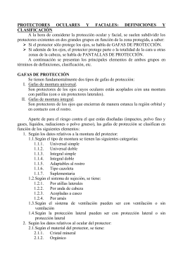 Guía orientativa para la selección y utilización de protectores
