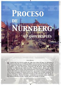 El proceso de Nürnberg 65 años después