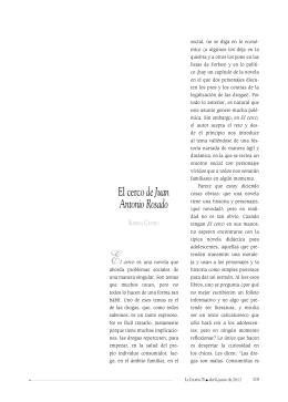 El cerco de Juan Antonio Rosado