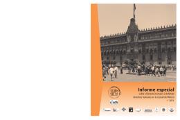 Informe especial - Comisión de Derechos Humanos del Distrito