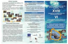 xviii congreso internacional de políticas de salud