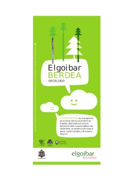 Elgoibar Berdea Decálogo