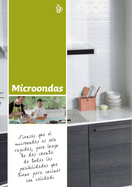 microondas 24 litros con marco de encastre integrado