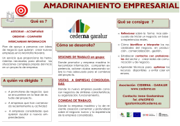 FOLLETO AMADRINAMIENTO 2012