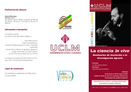 Folleto curso ciencia.pub - Universidad de Castilla