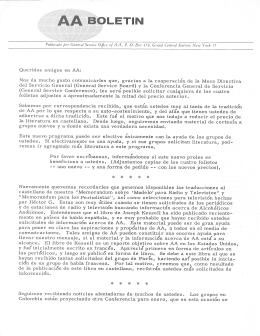 Box 459 - January 1962
