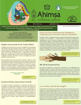 Brigadas Internacionales de Paz, Proyecto México Escuelas de