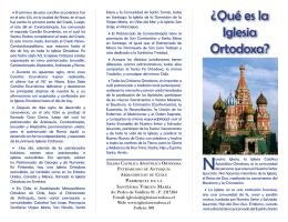 ¿Qué es la Iglesia Ortodoxa? - Iglesia Católica Apostólica Ortodoxa