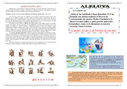 Nuevo Boletin 196 pagina 2 y 3 - Colegio Madres Concepcionistas