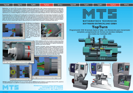 TopTurn - MTS - CAD Software / CAM Software / CNC Software