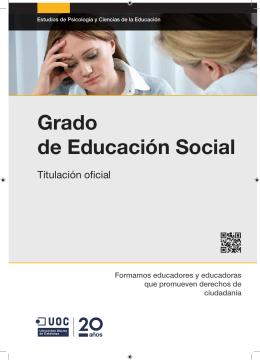 Grado de Educación Social