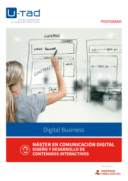 Digital Business - U-tad