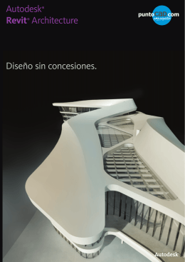 Folleto Autodesk Revit Architecture