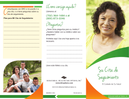 Su Cita de Seguimiento - Behavioral Healthcare Options