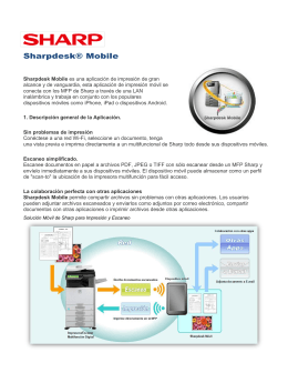 Sharpdesk® Mobile