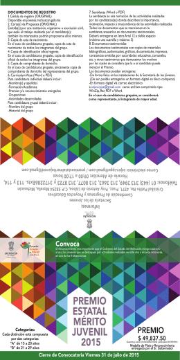 MÉRITO JUVENIL folleto 1 2015