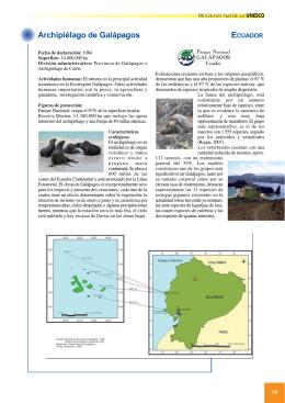 Archipiélago de Galápagos