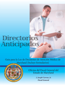 Directorios Anticipados - Johns Hopkins Medicine
