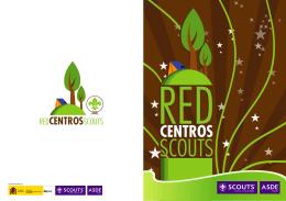 folleto centros scouts - ASDE Scouts de España