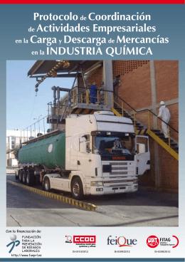 Folleto Protocolo de CAE en la carga y descarga de mercancías en