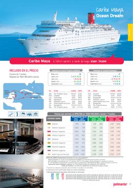 Crucero en Caribe Maya