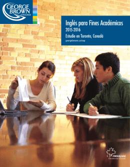 Inglés para Fines académicos