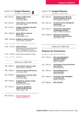 Descargar folleto en PDF - Asociación Colombiana de Radiología