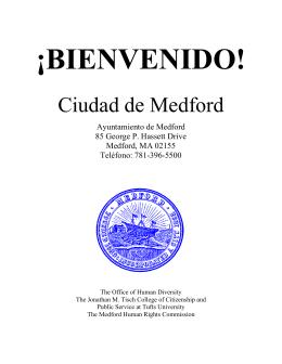 ¡BIENVENIDO! - City of Medford