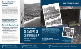 El Arroyo de Carpinteria ? - Carpinteria Creek Watershed Coalition