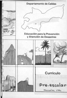 Educación para la Prevención y Atención de Desastres