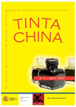 Tinta China - Ministerio de Educación, Cultura y Deporte