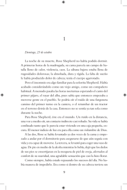 Primeros capítulos