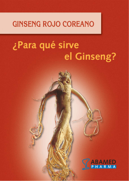 Folleto Red GINSENG.fh11