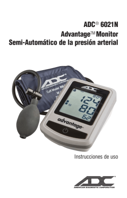 ADC® 6021N AdvantageTM Monitor Semi