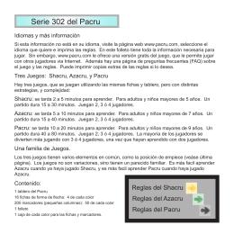Serie 302 del Pacru