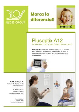 Folleto PlusOptix Modelos A12C y A12R