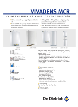 folleto tecnico Vivadens MCR