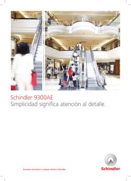 Brochure escaleras S9300AE