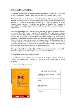 PDF de la Campaña de lanzamiento