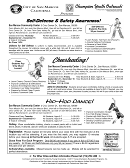Cheerleading! - San Marcos Unified School District
