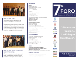 Folleto atras 7o. Foro CTNN 2012